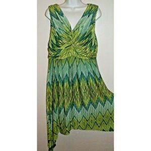 NWT Women's XL Chico's Knit Sleeveless Dress